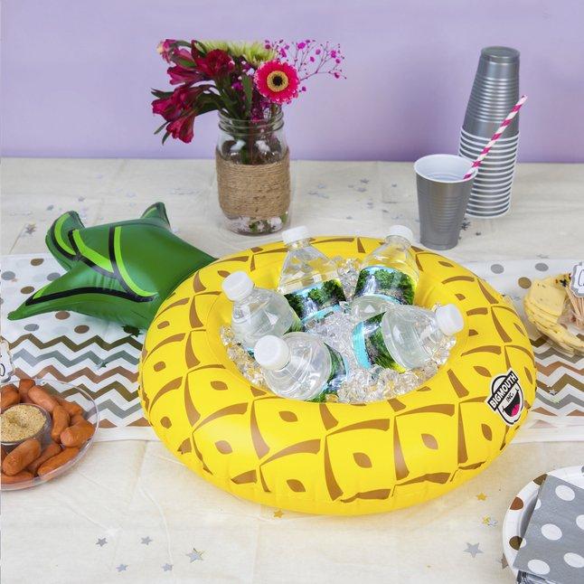 Afbeelding van BigMouth opblaasbare serveerring ananas from DreamLand