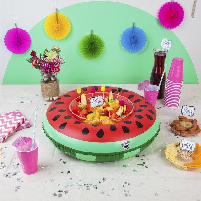 Afbeelding van BigMouth opblaasbare serveerring watermeloen from DreamLand