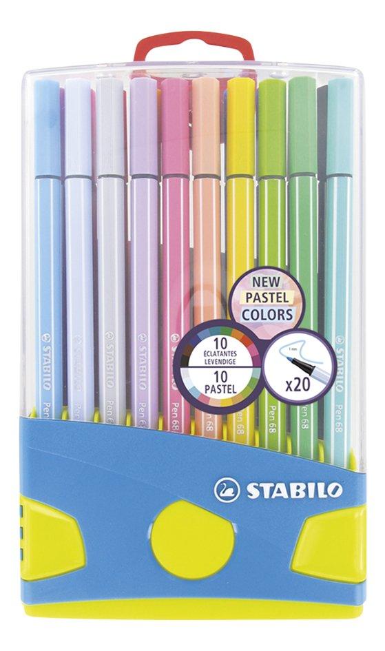Afbeelding van STABILO viltstift Pen 68 Pastel Parade - 20 stuks from DreamLand