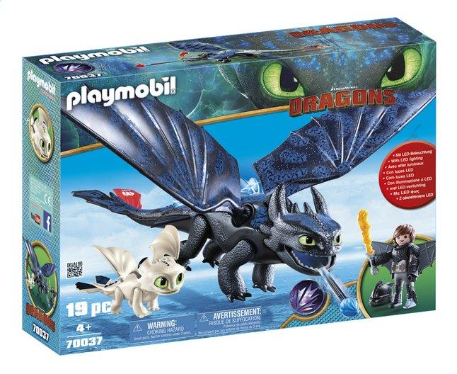 Image pour PLAYMOBIL Dragons 70037 Krokmou et Harold avec un bébé dragon à partir de DreamLand
