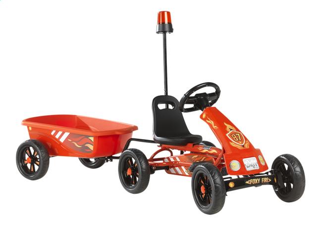 Afbeelding van EXIT gocart Foxy Fire + aanhangwagen from DreamLand