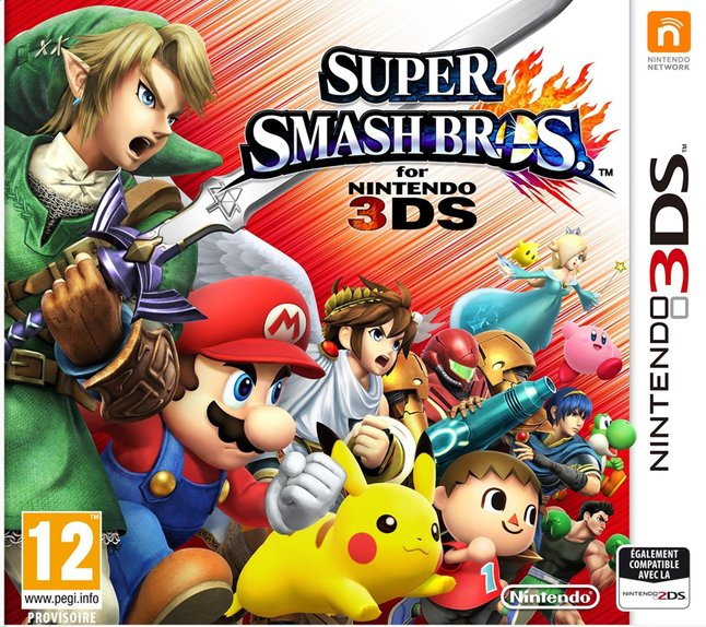 Afbeelding van Nintendo 3DS Super Smash Bros. FR from DreamLand