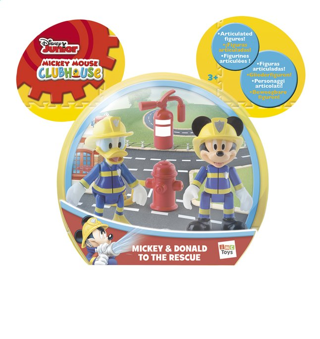 Afbeelding van Figuur Mickey Mouse Clubhouse Mickey & Donald to the rescue from DreamLand