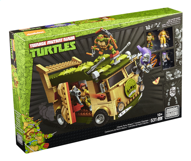 Afbeelding van Mega Bloks Teenage Mutant Ninja Turtles Classic Party Wagon from DreamLand