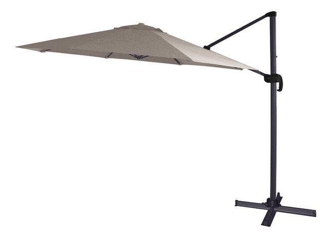 Image pour Parasol suspendu en aluminium Ø 3,5 m taupe à partir de DreamLand