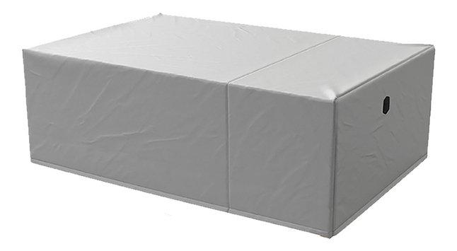 AquaShield housse de protection pour ensemble de jardin en polyester L 240 x Lg 160 x H 85 cm
