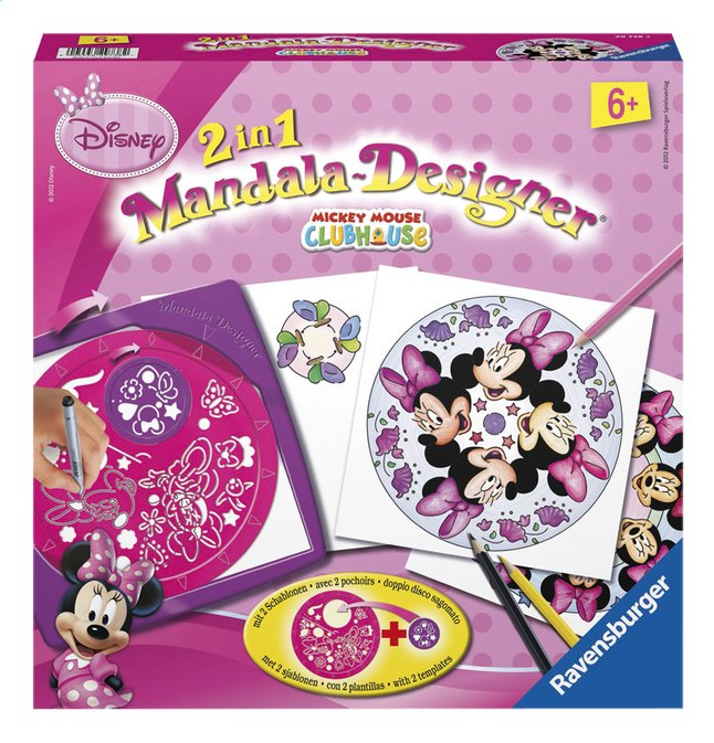 Afbeelding van Ravensburger Mandala-Designer Mickey Mouse Clubhouse 2 in 1 from DreamLand