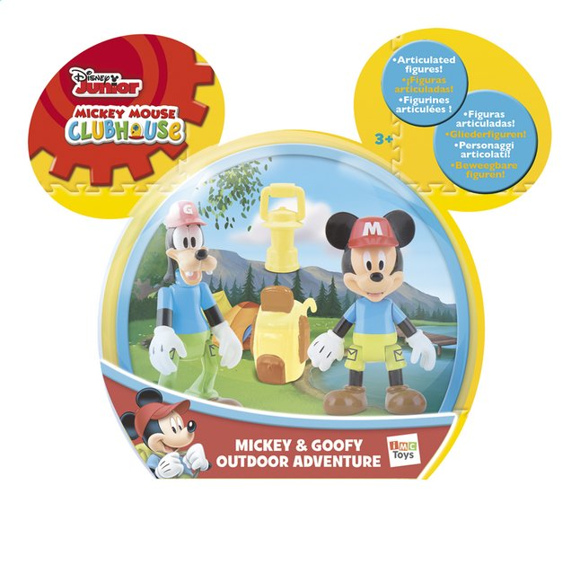 Afbeelding van Figuur Mickey Mouse Clubhouse Mickey & Goofy Outdoor Adventure from DreamLand
