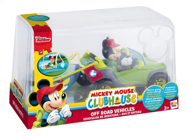 Afbeelding van Speelset Mickey Mouse Clubhouse Off road vehicles from DreamLand