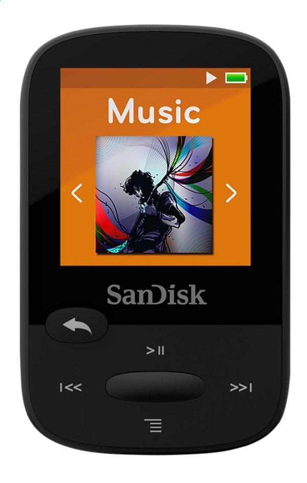 SanDisk lecteur MP3 Sansa Clip Sport 8 Go noir