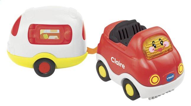 Afbeelding van VTech Toet Toet Auto's cabrio Claire met caravan from DreamLand