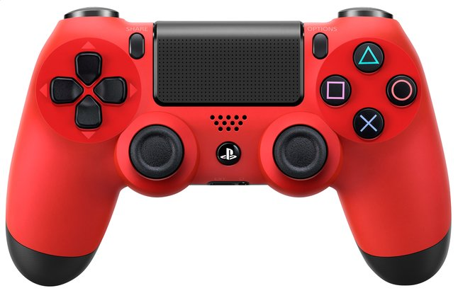 Afbeelding van PS4 Wireless DualShock 4 controller rood from DreamLand