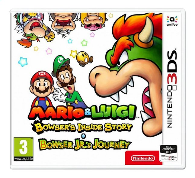 3DS Mario & Luigi Bowser's Inside Story + Bowser Jr.'s journey ANG