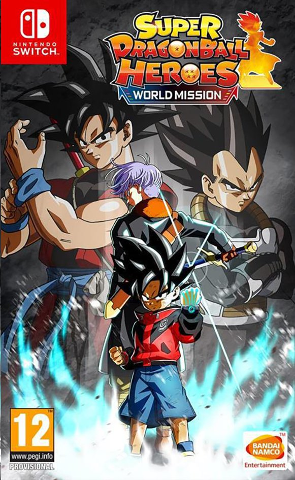 Afbeelding van Nintendo Switch Super Dragon Ball Heroes World Mission NL from DreamLand