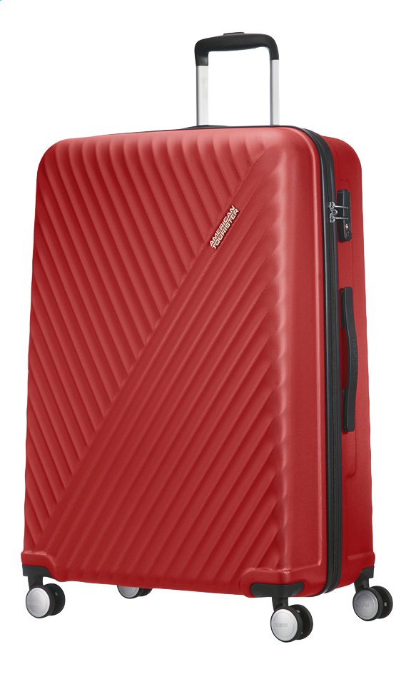 Afbeelding van American Tourister Harde reistrolley Visby Spinner energetic red 76 cm from DreamLand