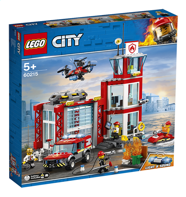 Afbeelding van LEGO City 60215 Brandweerkazerne from DreamLand