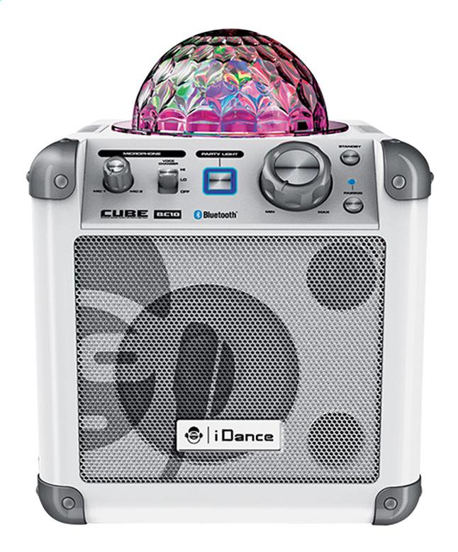 Image pour iDance haut-parleur Bluetooth Party Cube BC10 blanc à partir de DreamLand