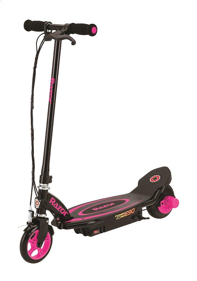 Afbeelding van Razor elektrische step Power Core E90 zwart/roze from DreamLand