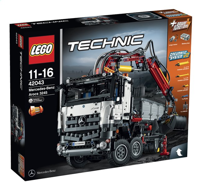 Afbeelding van LEGO Technic 42043 Mercedes-Benz Arocs 3245 from DreamLand