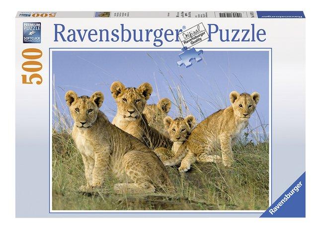 Afbeelding van Ravensburger puzzel Leeuwenwelpen from DreamLand