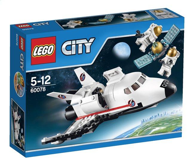 Afbeelding van LEGO City 60078 Space Shuttle hulpvoertuig from DreamLand