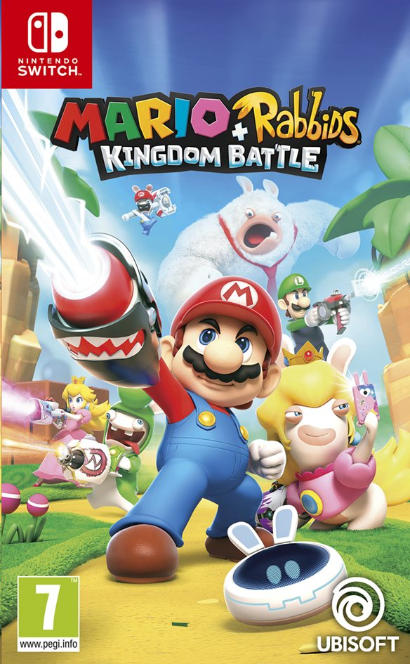 Nintendo Switch Mario + The Lapins Crétins Kingdom Battle FR/ANG