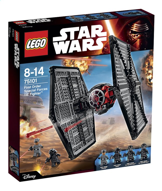 Image pour LEGO Star Wars 75101 First Order Special Forces TIE fighter à partir de DreamLand