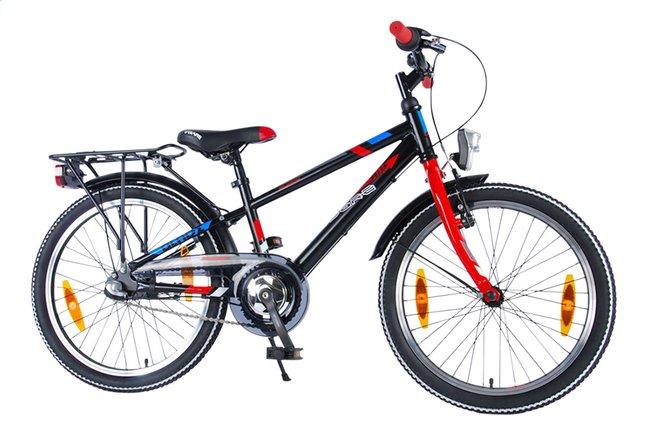 Image pour Volare vélo pour enfants Blade Nexus 3 noir/rouge 20