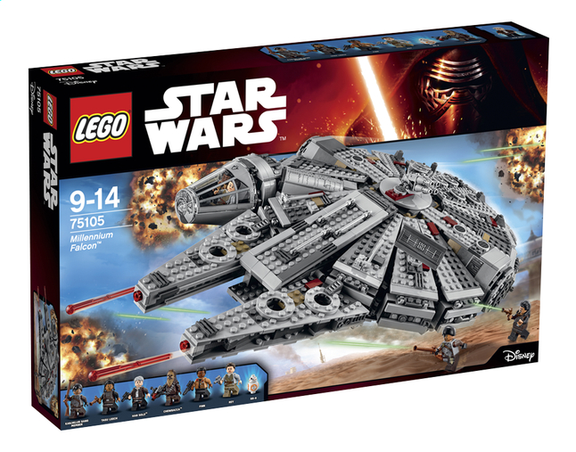 Afbeelding van LEGO Star Wars 75105 Millennium Falcon from DreamLand