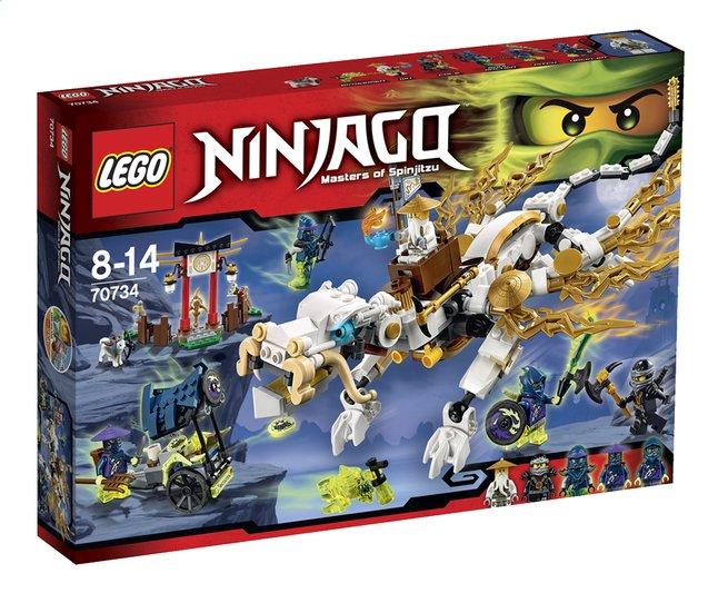 Image pour LEGO Ninjago 70734 Le dragon de Maître Wu à partir de DreamLand
