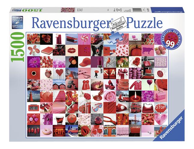 Ravensburger puzzle 99 belles choses rouges