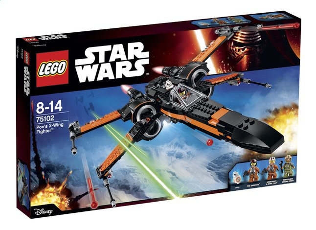 Afbeelding van LEGO Star Wars 75102 Poe's X-Wing Fighter from DreamLand