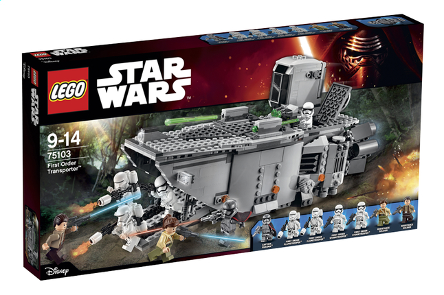 Afbeelding van LEGO Star Wars 75103 First Order Transporter from DreamLand