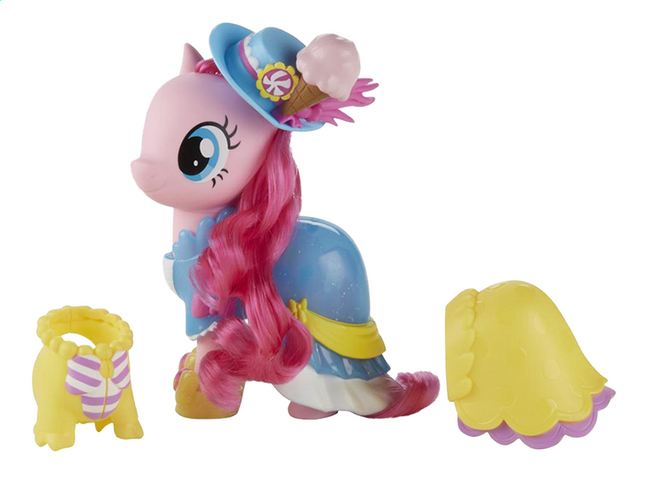 Afbeelding van My Little Pony figuur Jitterbug fashion Pinkie Pie from DreamLand