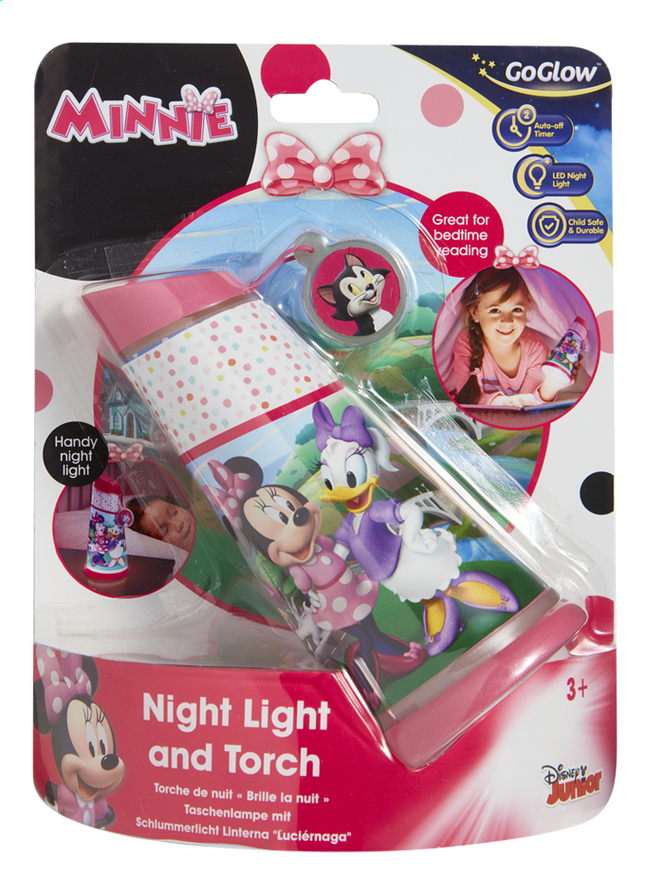 Afbeelding van GoGlow Nacht-/zaklamp Minnie from DreamLand