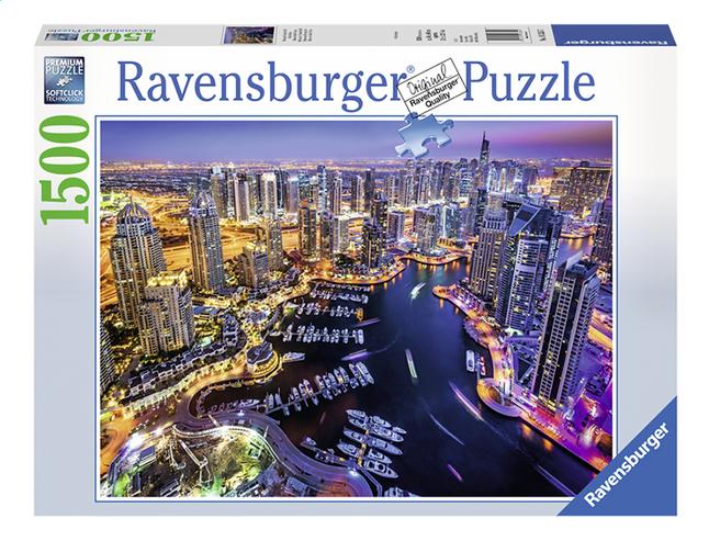 Afbeelding van Ravensburger puzzel Dubai at Night from DreamLand