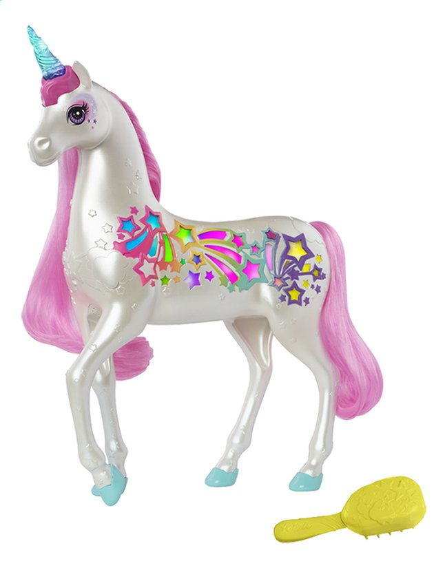 Afbeelding van Barbie Dreamtopia Brush'n Sparkle unicorn from DreamLand
