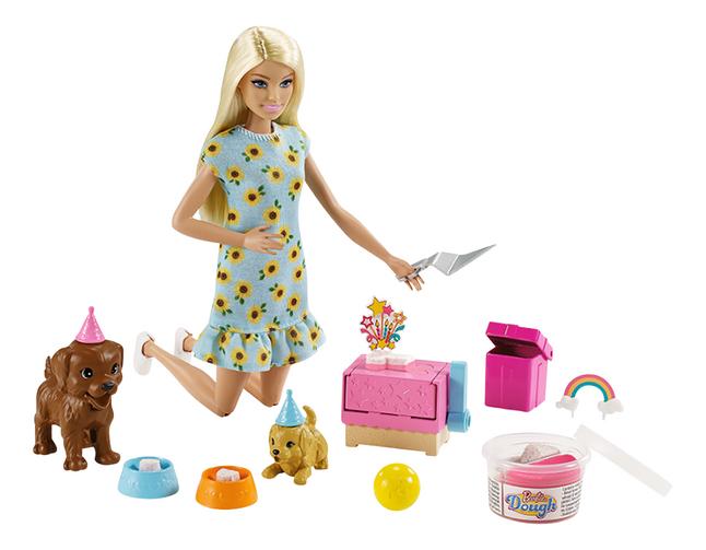 Barbie: mannequinpop Puppy Party