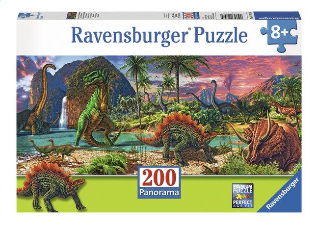 Afbeelding van Ravensburger XXL puzzel In het land van de dinosaurussen from DreamLand