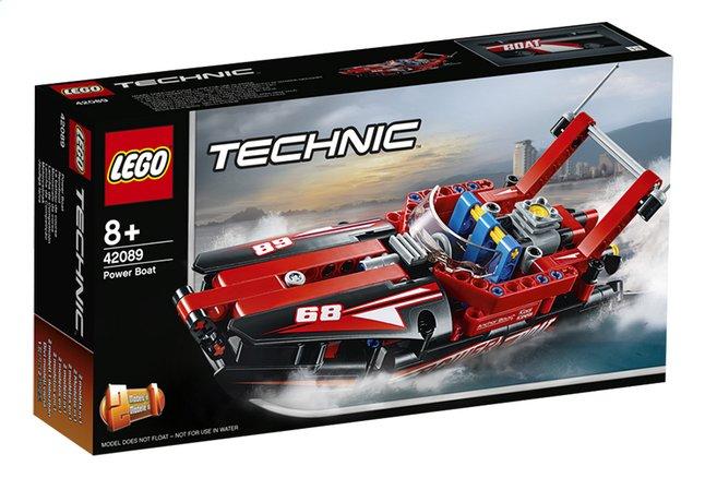 Afbeelding van LEGO Technic 42089 Powerboat from DreamLand