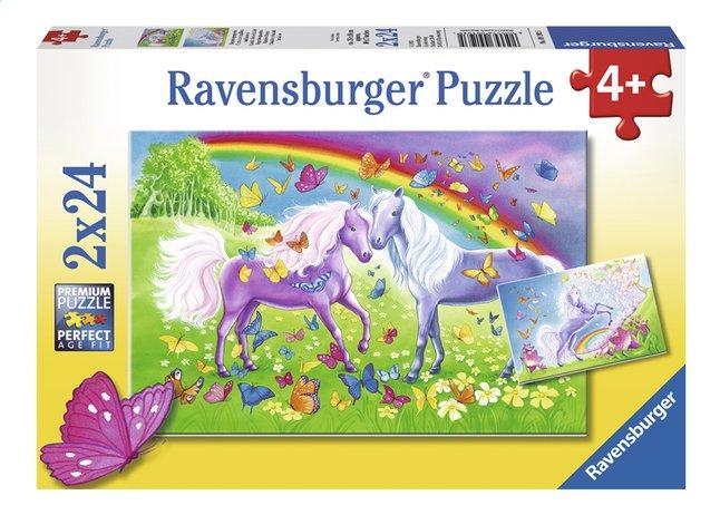 Image pour Ravensburger puzzle 2 en 1 Chevaux arc-en-ciel à partir de DreamLand