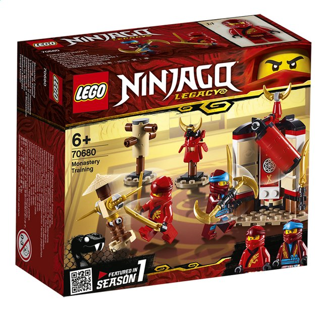 Afbeelding van LEGO Ninjago 70680 Kloostertraining from DreamLand