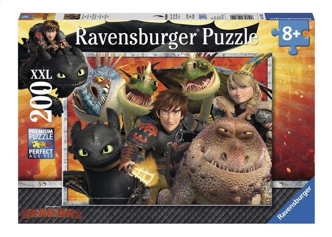 Afbeelding van Ravensburger XXL puzzel Dragons Hikkie, Astrid en de draken from DreamLand
