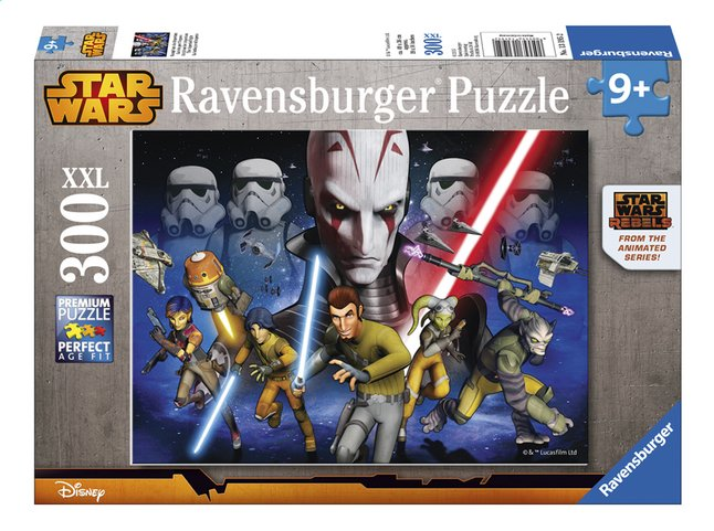 Afbeelding van Ravensburger XXL puzzel Disney Star Wars The imperial flight from DreamLand