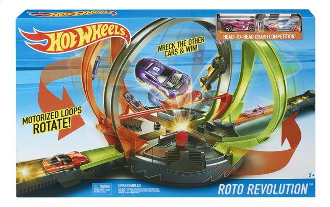 Afbeelding van Hot Wheels acrobatische racebaan Roto Revolution from DreamLand