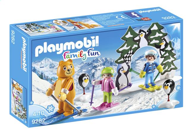 PLAYMOBIL Family Fun 9282 Moniteur de ski avec enfants