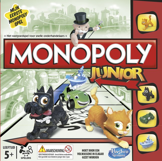 Afbeelding van Monopoly Junior from DreamLand