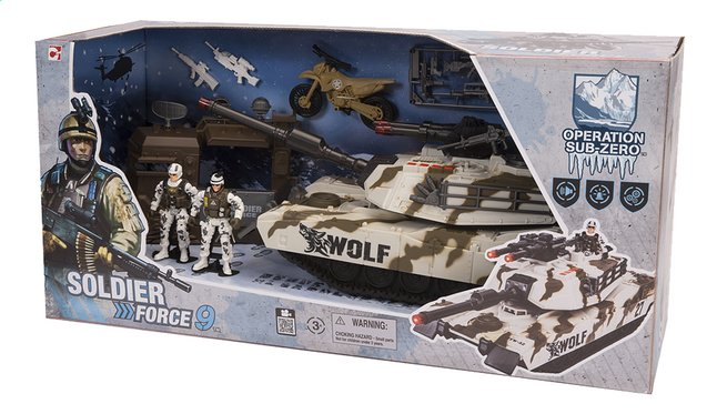 Soldier Force 9 Elicottero : Set de jeu soldier force destroyer dreamland