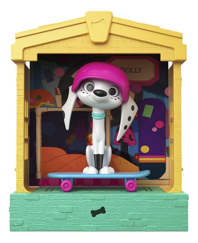 Speelset Disney 101 Dalmatian Street Huisje - Dolly