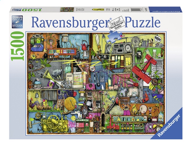 Afbeelding van Ravensburger puzzel Colin Thompson Rommelige kast from DreamLand